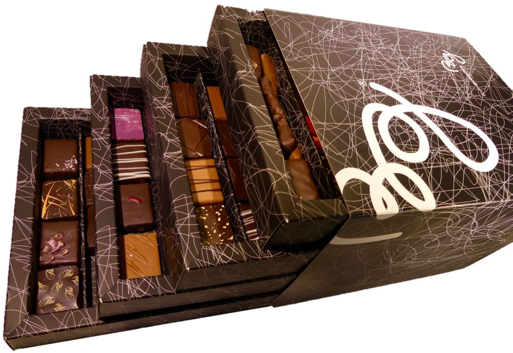 Coffret 100 chocolats par Bruno Guerpillon