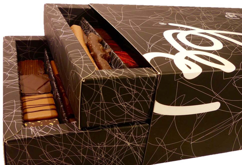 Coffret 50 chocolats par Bruno Guerpillon